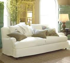 sure fit white sofa slipcover photo of stretch pique three piece t