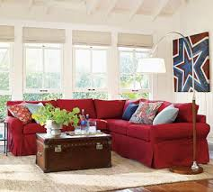 Pottery Barn Seagrass Sectional This Is My Exact Red Couch I Could Lighten My Family Room By
