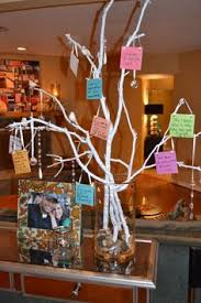 birthday wish tree stripes party lollipops customised favours 30th birthday ideas
