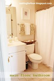 Spa Like Bathroom Ideas My Space Main Floor Bathroom Setting For Four