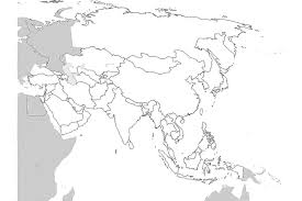 Blank Map Of Central Asia by 17 Blank Maps Of The U S And Other Countries Within Asia Practice