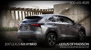 lexus used madison wi 2017 lexus nx hybrid youtube