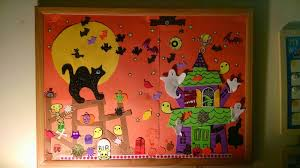 halloween bulletin board eiche fam