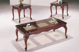 Coffee Tables Glass by 3 Piece Antique Cherry Coffee Table Set Huntington Beach Furniture