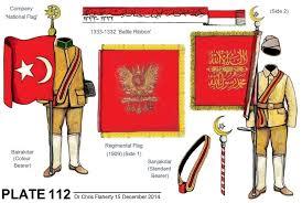 Flag Ottoman Ottoman Uniforms Ww1 Ottoman Army Regiment Standards