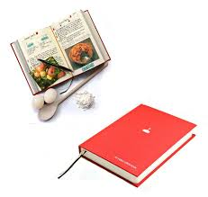 uk black red my family recipe cook book journal food kitchen