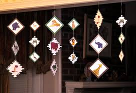 how to make hanging decorations scrapgirls