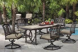 patio furniture 7 piece set hton bay pembrey 7 piece patio dining