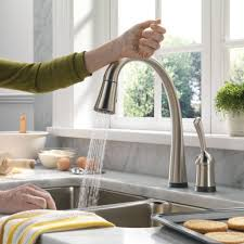 Satin Nickel Kitchen Faucet by Kitchen Bar Faucets Moen Touchless Kitchen Faucet Manual Combined
