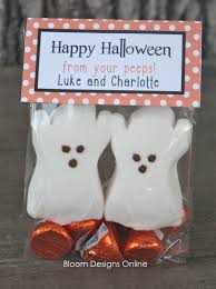 happy halloween peeps cute cute and so easy marshmallow ghost