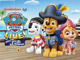 paw patrol live live shows kids u0026 toddlers 2017