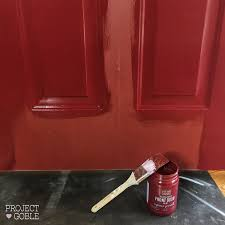 Red Door Paint Painting Our Front Door Passionate Red Project Goble