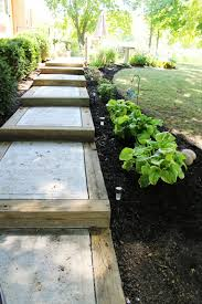 diy backyard pathway ideas page 6 of 12 cement steps concrete