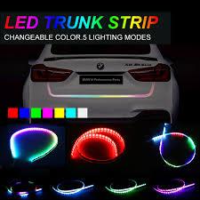 multi color led light bar okeen rgb led strip for car tailgate turning signal light bar strip