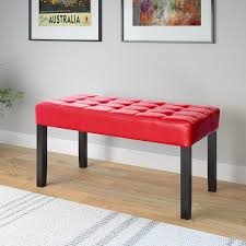 Red Entryway Bench by Corliving Lmy 110 O California 24 Panel Bench Walmart Canada
