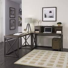 home styles xcel l shape corner desk with hutch u0026 reviews wayfair
