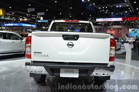 nissan pickup 2015 2015 nissan navara limited edition showcased in thailand