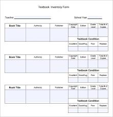 doc 814562 book inventory template u2013 printable book inventory