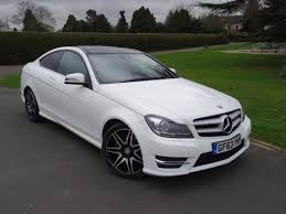 mercedes c class amg 2013 mercedes c class c250 amg sport plus coupe 2013 63 in ilford