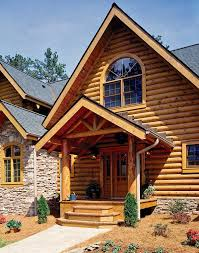 Jim Barna Model Home Building A Dream Log Home From Scratch In North Carolina