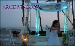 wedding arches rental miami miami chuppah rental wedding canopy arch