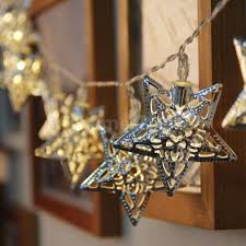 Battery Operated Christmas String Lights by Led Christmas Tree Star Christmas Lights Decoration