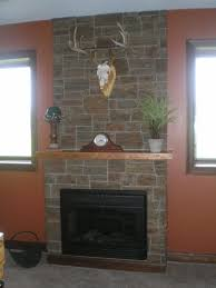 stone veneer for fireplace home decor