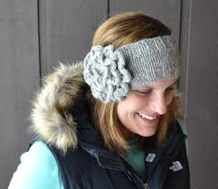 knitted headband pattern knit flower headband pattern crochet and knit