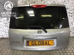 06 13 nissan note tailgate orange paint code r10 g 195 00