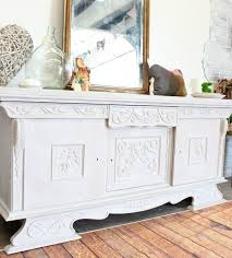 european painted buffet in heirloom traditions paint refunk my junk