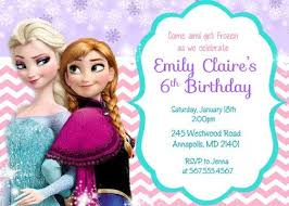 frozen birthday invites frozen birthday invites and your charming
