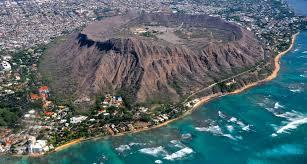 diamond head volcano oahu island honolulu hawaii living in