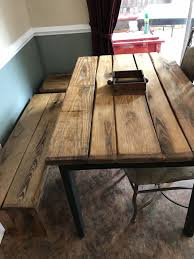 Best Farmhouse Tables Images On Pinterest Reclaimed Wood - Primitive kitchen tables