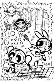 21 powerpuff girls coloring pages images