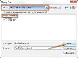 outlook 2013 design email templates in outlook how to create and use templates in