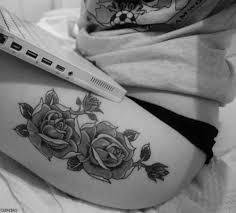42 best tattoos images on pinterest thigh tattoos 3d rose