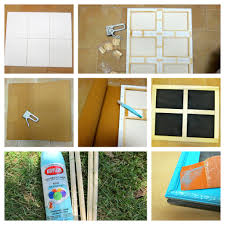 How To Make A Window by How To Make A Window Frame Bulletin Board