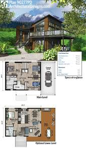 contemporary 2 story house design with deck architecture modern