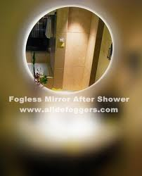 Bathroom Mirror Anti Fog Spray Amazing 30 Bathroom Mirror No Fog Design Inspiration Of Nrg Fog