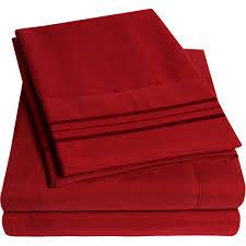Extra Deep Sheets 1500 Thread Count Egyptian Quality Microfiber Deep Pocket Bedroom