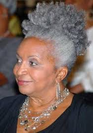 african american hairstyles for grey hair grey hair african american woman via candace cunningham