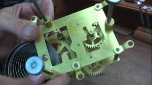 repairing ansonia clock movement o c clock repair youtube