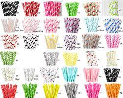 Wedding Decorations For Sale Aliexpress Com Buy Sale 100pcs Paper Straws Paper Drinking