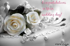 Wedding Day Greetings Congratulations Your Wedding Day Greeting Card Pepe 1702152 Top