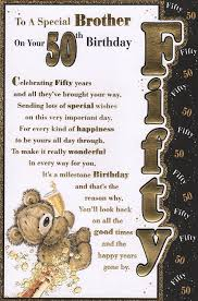 50th birthday card to a special on your 50th