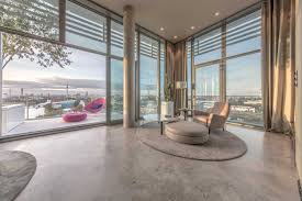 Modern Penthouses Designs Modern Open Plan Architecture With Floor To Ceiling Windows