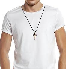 crucifix necklaces wooden cross necklace crosses u0026 crucifixes