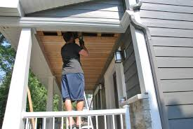 how to build a cedar porch ceiling the sweetest digs