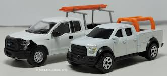 truck ford f150 two lane desktop greenlight and matchbox 2015 ford f 150