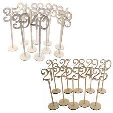 table numbers wedding wedding table numbers ebay
